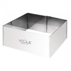 Vogue vierkante moussering 4x8x8cm