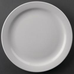 Athena Hotelware borden met smalle rand 22,6cm