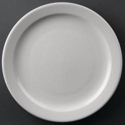 Athena Hotelware borden met smalle rand 25,8cm