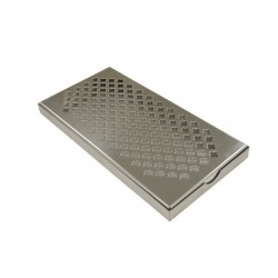 RVS lekrooster 30,5x15,2cm