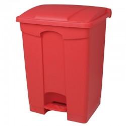 Jantex afvalemmer rood 45ltr