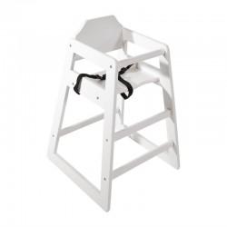 Bolero Hoge Kinderstoel antiek wit