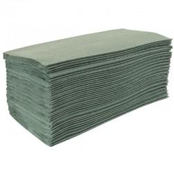 Jantex Z-gevouwen handdoeken groen 15 pakken