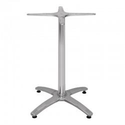 Bolero aluminium tafelonderstel met 4 poten