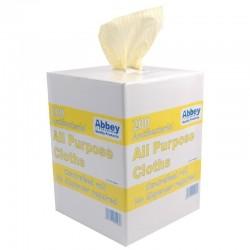 Jantex antibacteriële multifunctionele doekjes geel