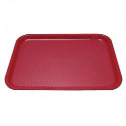 Kristallon dienblad rood 34,5x26,5cm