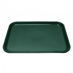 Kristallon dienblad groen 34,5x26,5cm