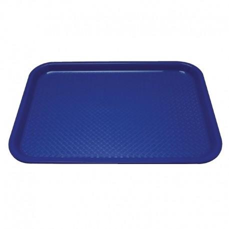 Kristallon dienblad blauw 34,5x26,5cm