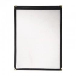 Olympia American Style menuhouder A4 zwart enkel