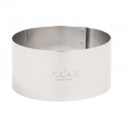 Vogue ronde moussering 3,5x7cm