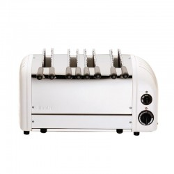 Dualit sandwich toaster 4 sleuven wit 41034