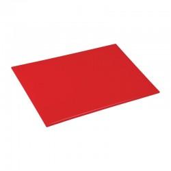 Hygiplas antibacteriële HDPE snijplank rood 455x305x12mm