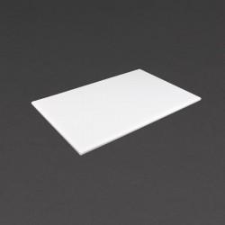 Hygiplas antibacteriële HDPE snijplank wit 455x305x12mm