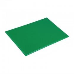 Hygiplas antibacteriële HDPE snijplank groen 455x305x12mm