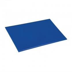 Hygiplas antibacteriële HDPE snijplank blauw 455x305x12mm