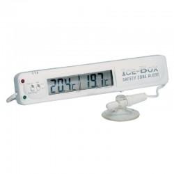 Hygiplas koeling- en vriezerthermometer met alarm