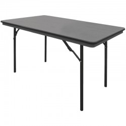 Bolero ABS rechthoekige inklapbare tafel 1,22m
