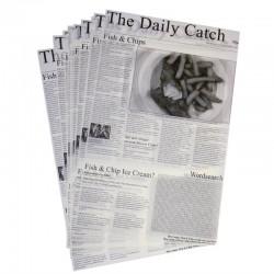 Vetvrij papier krant opdruk 27x42cm (500 vel)
