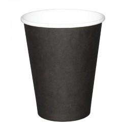 Fiesta Hot Cups enkelwandig zwart 23cl x50