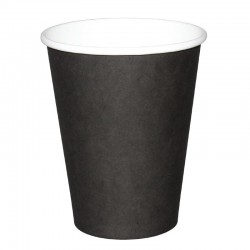 Fiesta Hot Cups enkelwandig zwart 34cl x50