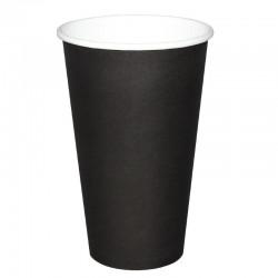 Fiesta Hot Cups enkelwandig zwart 48cl x50