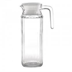 Olympia glazen kan met deksel 1ltr