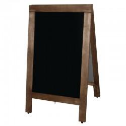 Olympia houten stoepbord 85 x 50cm