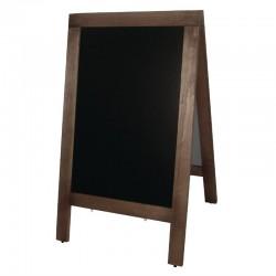 Olympia houten stoepbord 120 x 70cm