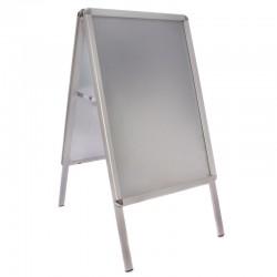 Aluminium stoepbord A2 klapbord