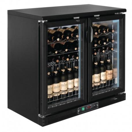 Polar horizontale wijnkoeling met klapdeuren