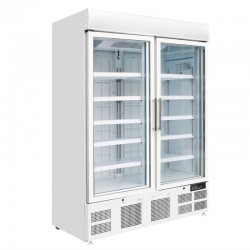 Polar display vriezer met lichtkoof 920ltr