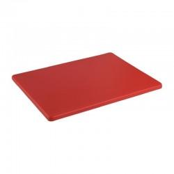 Hygiplas LDPE snijplank rood 305x229x12mm