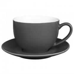 Olympia cappuccino kop grijs 34cl