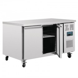 Polar 2-deurs patisserie counter 427ltr