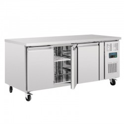 Polar 3-deurs patisserie counter 634ltr