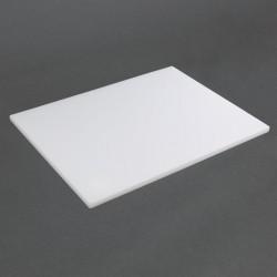 Hygiplas LDPE snijplank wit 600x400x20mm