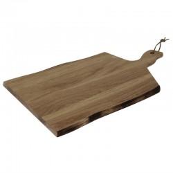 Olympia acaciahouten plank golvende rand 35,5x25cm
