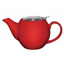 Olympia theepot 51cl rood