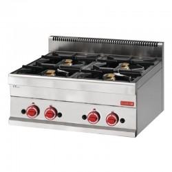 Gastro M 650 gaskooktoestel met 4 branders 65/70 PCG