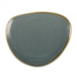Olympia Kiln driehoekige borden blauw 23cm