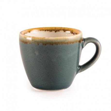 Olympia Kiln espressokopjes blauw 8,5cl