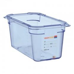 Araven ABS blauwe GN1/4 voedseldoos 150mm