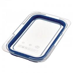 Araven luchtdicht deksel voor ABS blauwe voedseldoos GN1/4
