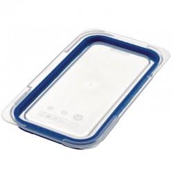 Araven luchtdicht deksel voor ABS blauwe voedseldoos GN1/3