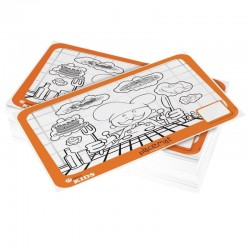 Dining Kids placemats om in te kleuren