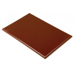 Hygiplas HDPE snijplank bruin 450x300x25mm