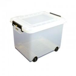 Araven mobiele voedselcontainer met deksel 50ltr