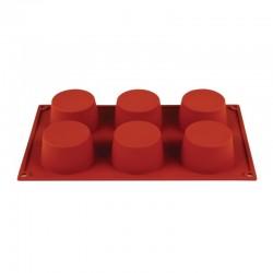 Pavoni Formaflex siliconen bakvorm 6 muffins