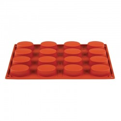 Pavoni Formaflex siliconen bakvorm 16 ovalen