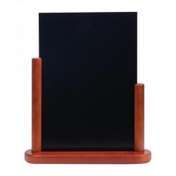 Securit tafelkrijtbordje mahonie 32 x 27cm